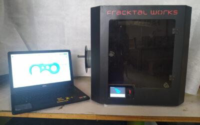 3 डी प्रिंटर वापरून बहुउद्देशीय कोव्हीड हुक तयार करणे