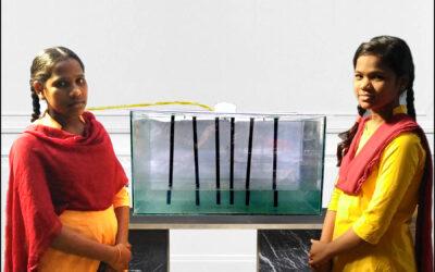 भाजीपाला निर्जंतुक करण्यासाठी सोडियम हायपोक्लोराईट चे द्रावण तयार करण्याचे यंत्र